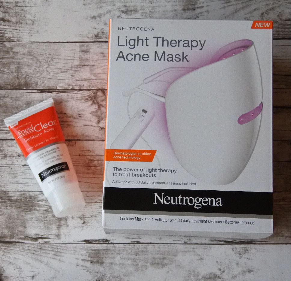 Review: Neutrogena Light Therapy Acne Mask - Derm . Talk
